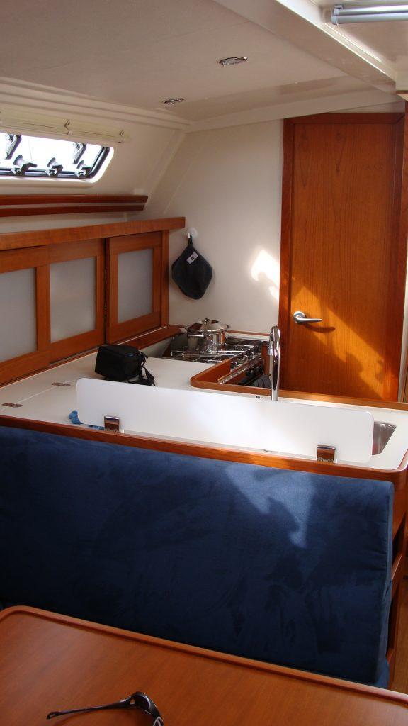 Interieur Sianthis - schip in Zeeland