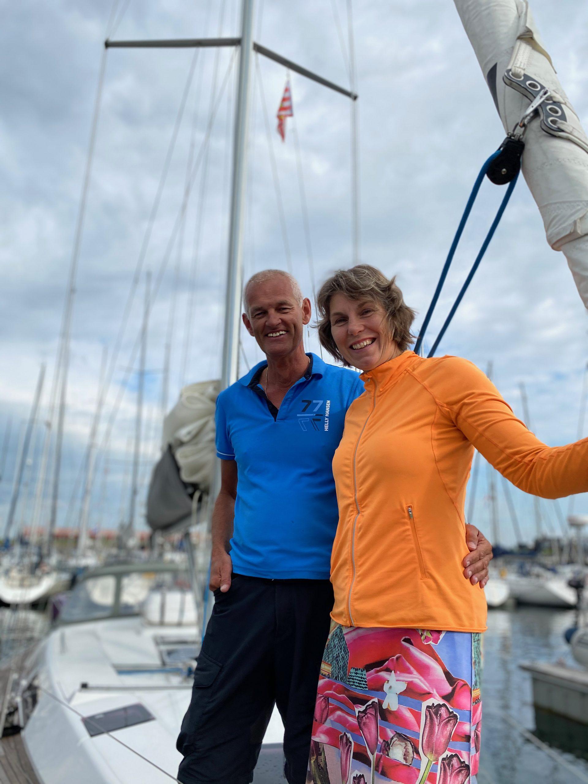 Simone en André - Zeilen in Zeeland